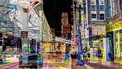 Digital Art - Chicago Loop by Judith Barath