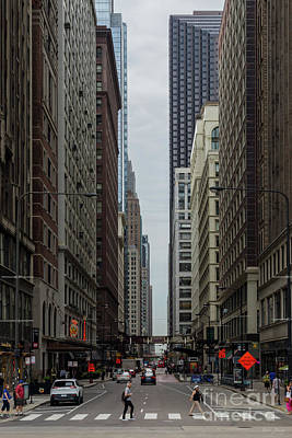Photograph - Chicago Madison Street by Jennifer White