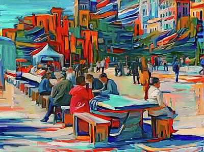 Digital Art - Chicago Millennium Sunday by Yury Malkov