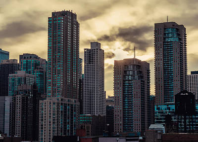 Photograph - Chicago Morning II by Nisah Cheatham