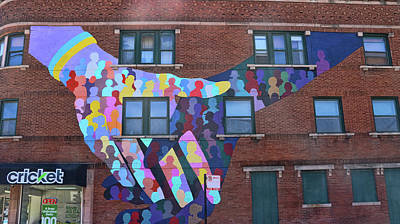 Photograph - Chicago Mural - Coming Together by Allen Beatty