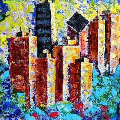 Chicago My Kind Of Town Original by Carole Sluski