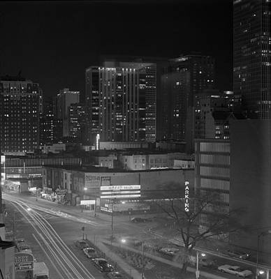 Chicago Night Original by Arni Katz
