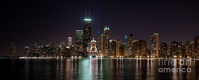 Lakeshore Drive Photograph - Chicago North Lakeshore Drive  by Frank  Cramer