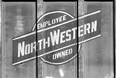 Photograph - Chicago Northwestern Bw 3 by Joseph C Hinson Photography