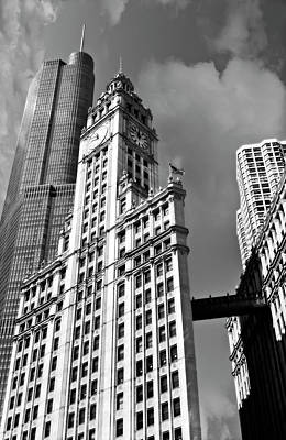 Photograph - Chicago Old And New by Daniel Hagerman