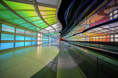 Photograph - Chicago Ord Airport Underpass by Judith Barath
