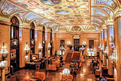 Painting - Chicago Palmer House by Christopher Arndt