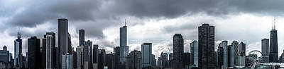 Photograph - Chicago Profile by Ryan Heffron