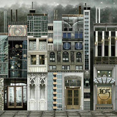 Chicago Reconstruction 1 Art Print