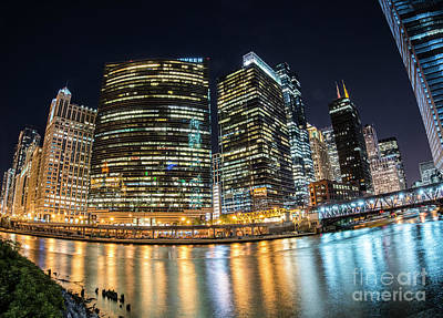 Values Photograph - Chicago Reflections by Juli Scalzi