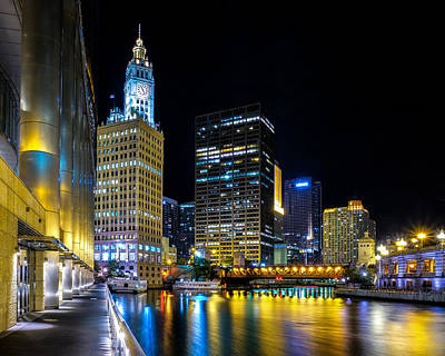 Photograph - Chicago River Beneath Trump Tower by John McArthur