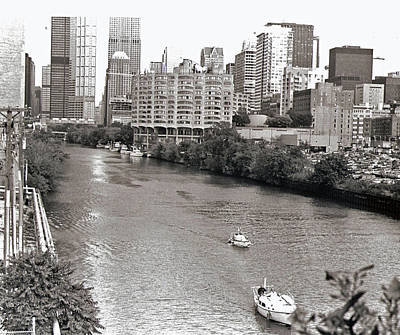 Chicago River Art Print by Eric Belford