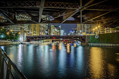 Photograph - Chicago River Hd by Pat Scanlon
