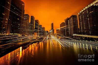 Pasta Al Dente - Chicago River by Todd Bielby