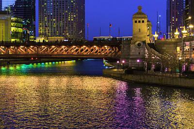 Chicago River Ver2 Art Print