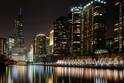 Photograph - Chicago River View 2 by John McArthur