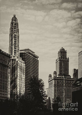 Jeweler Photograph - Chicago Riverside by Andrew Paranavitana