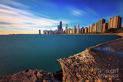 Photograph - Chicago Rough by Andrew Slater