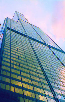 Jrr Photograph - Chicago Sears Willis Tower Pop Art by First Star Art