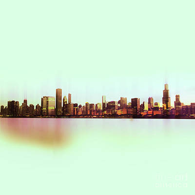 Chicago Skyline 01 Original by Gull G