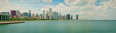 Photograph - Chicago Skyline #1 by Jerry Golab