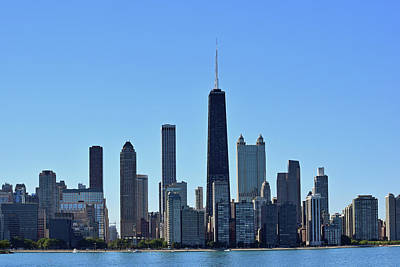 Photograph - Chicago Skyline No. 1 by Sandy Taylor