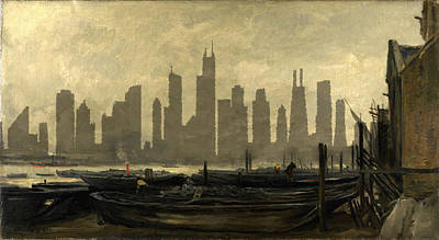 Photograph - Chicago Skyline 12 by Andrew Fare