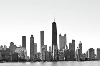 Photograph - Chicago Skyline No. 1-1 by Sandy Taylor