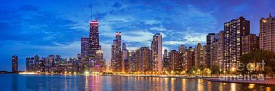 Photograph - Chicago Skyline 2  by Emmanuel Panagiotakis