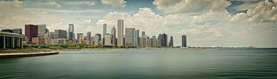Photograph - Chicago Skyline #2 by Jerry Golab