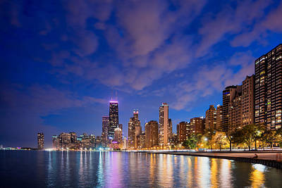 Photograph - Chicago Skyline 5 by Emmanuel Panagiotakis