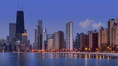 Photograph - Chicago Skyline - Dawn by Nikolyn McDonald