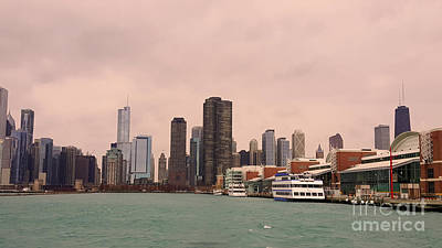 Photograph - Chicago Skyline by Elizabeth Coats