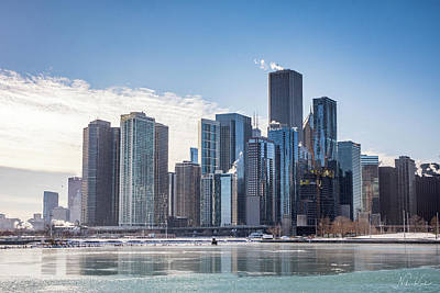 Photograph - Chicago Skyline by Framing Places