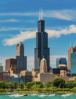 Photograph - Chicago Skyline by Francisco Gomez
