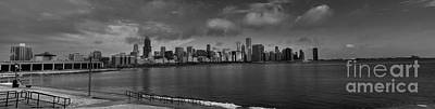 Photograph - Chicago Skyline From Adler by David Bearden