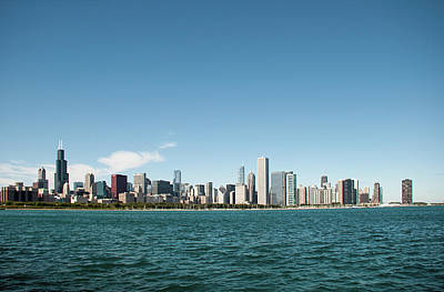 Photograph - Chicago Skyline by John Black