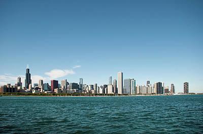 Photograph - Chicago Skyline by John Black