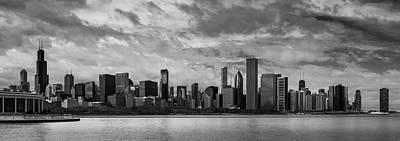 Photograph - Chicago Skyline by Josh Eral