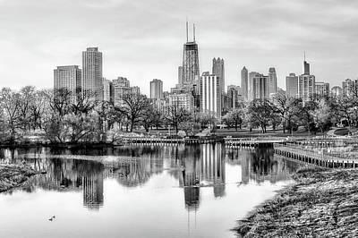 Photograph - Chicago Skyline - Lincoln Park by Nikolyn McDonald