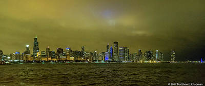 Photograph - Chicago Skyline by Matthew Chapman