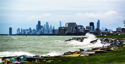 Photograph - Chicago Skyline by Randy J Heath