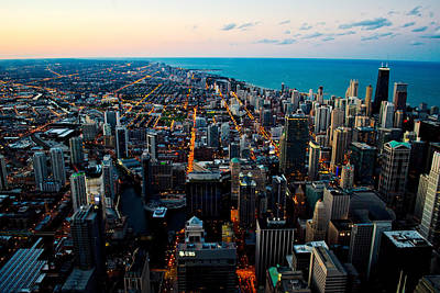 Photograph - Chicago Skyline by Richard Zentner
