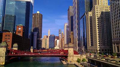 Photograph - Chicago Skyline by Rosanne Licciardi