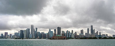 Photograph - Chicago Skyline by Ryan Heffron