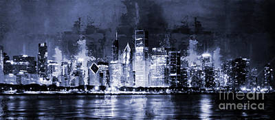 Chicago Skylines 0043m Original by Gull G