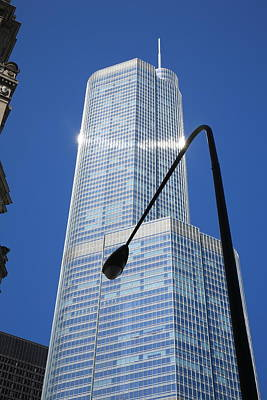 Photograph - Chicago Skyscraper by Frank Romeo