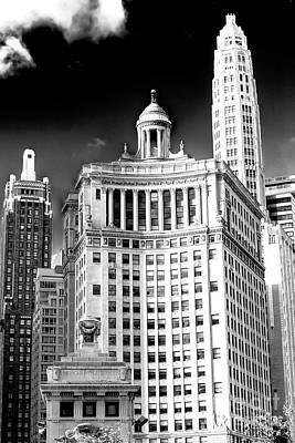 Photograph - Chicago Skyscraper Style by John Rizzuto