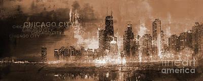 Chicago Skyscrapers  Original